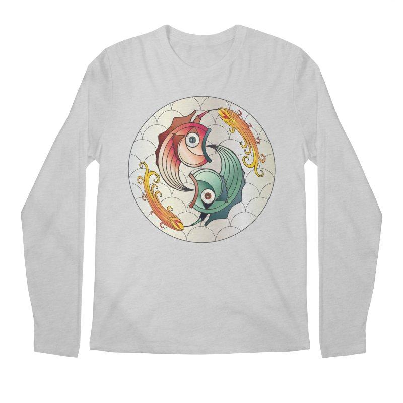 Deco Fish Twins Logo 2019! Men's Regular Longsleeve T-Shirt by starstar's Artist Shop