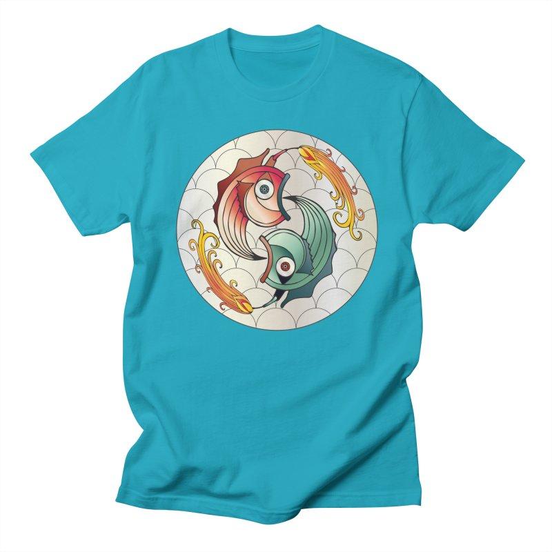 Deco Fish Twins Logo 2019! Men's Regular T-Shirt by starstar's Artist Shop