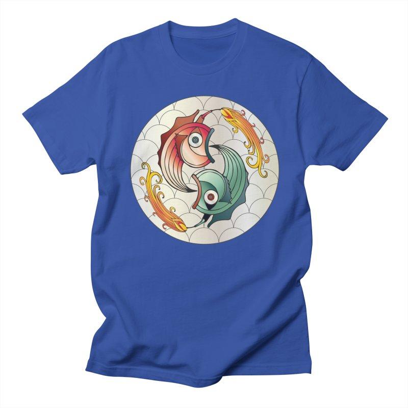 Deco Fish Twins Logo 2019! Men's T-Shirt by starstar's Artist Shop