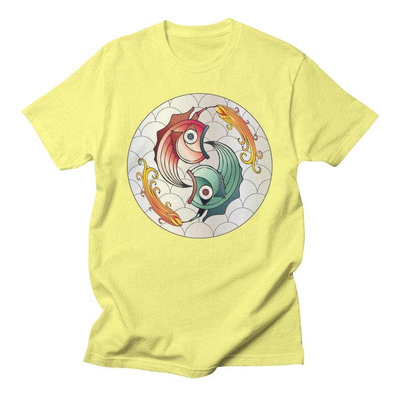 Deco Fish Twins Logo 2019! Men's T-Shirt by starstar's Artist Shop