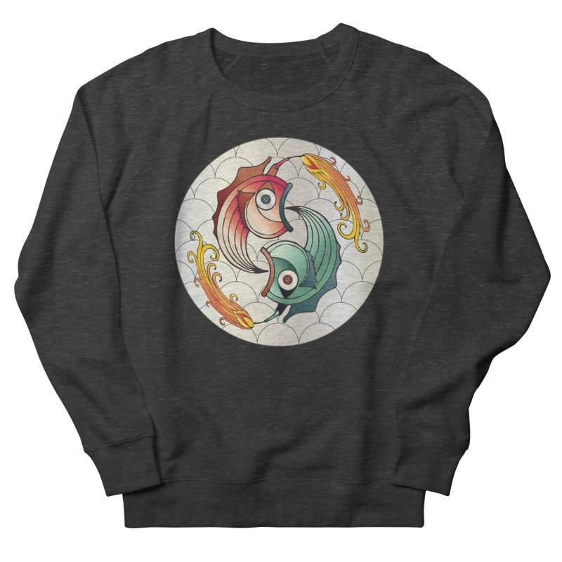 Deco Fish Twins Logo 2019! Men's French Terry Sweatshirt by starstar's Artist Shop
