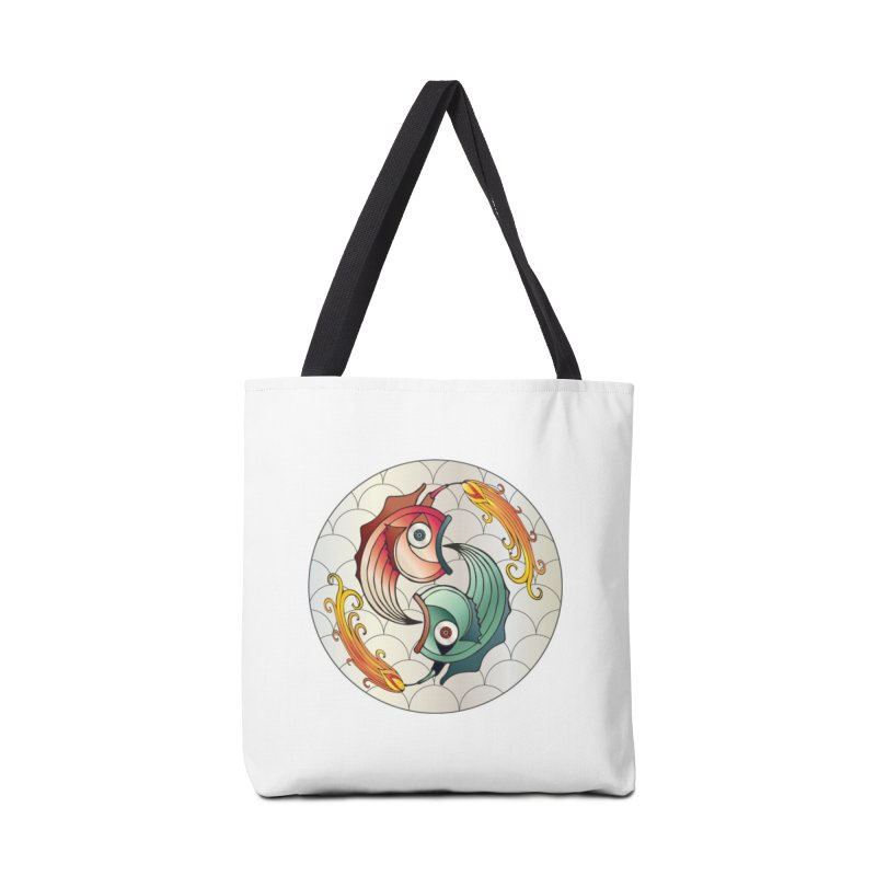 Deco Fish Twins Logo 2019! Accessories Bag by starstar's Artist Shop