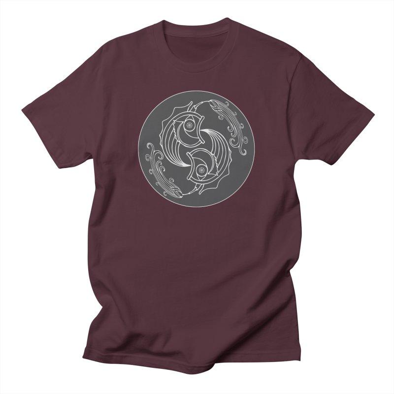 Deco Fish Twins Logo Black and White Women's T-Shirt by starstar's Artist Shop