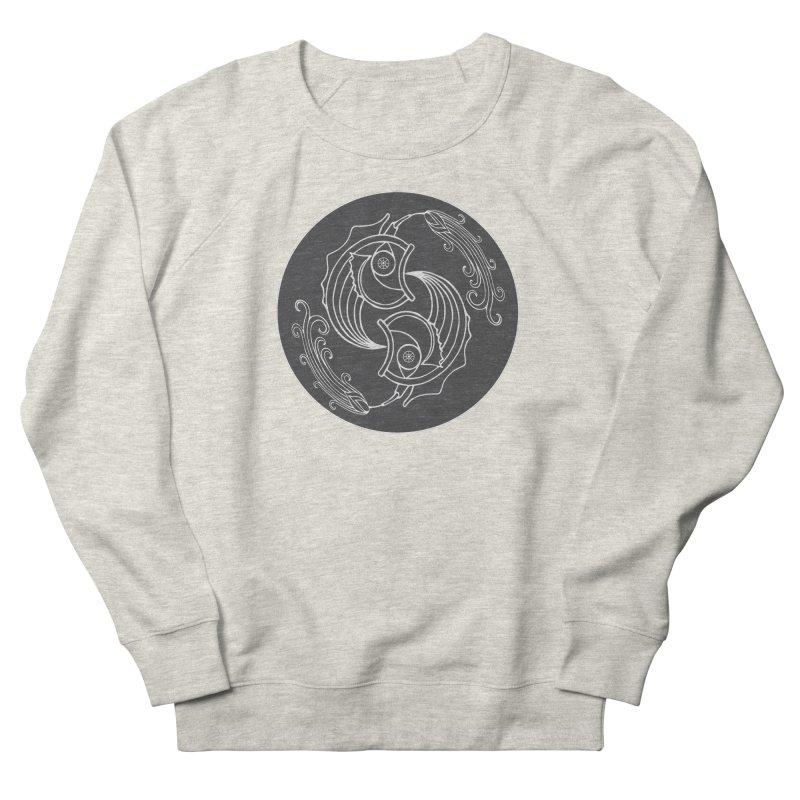 Deco Fish Twins Logo Black and White Men's Sweatshirt by starstar's Artist Shop