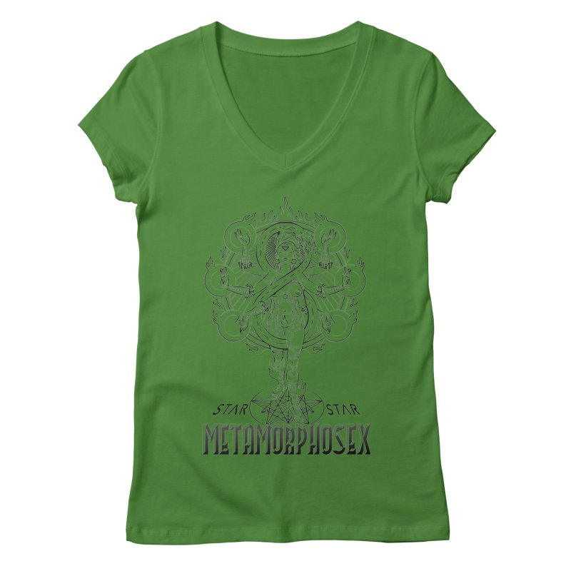 MetamorphoSex 2019 Women's Regular V-Neck by starstar's Artist Shop