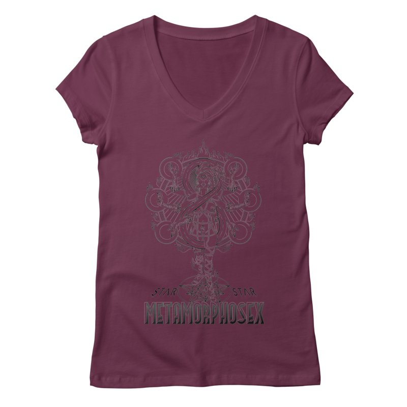 MetamorphoSex 2019 Women's V-Neck by starstar's Artist Shop