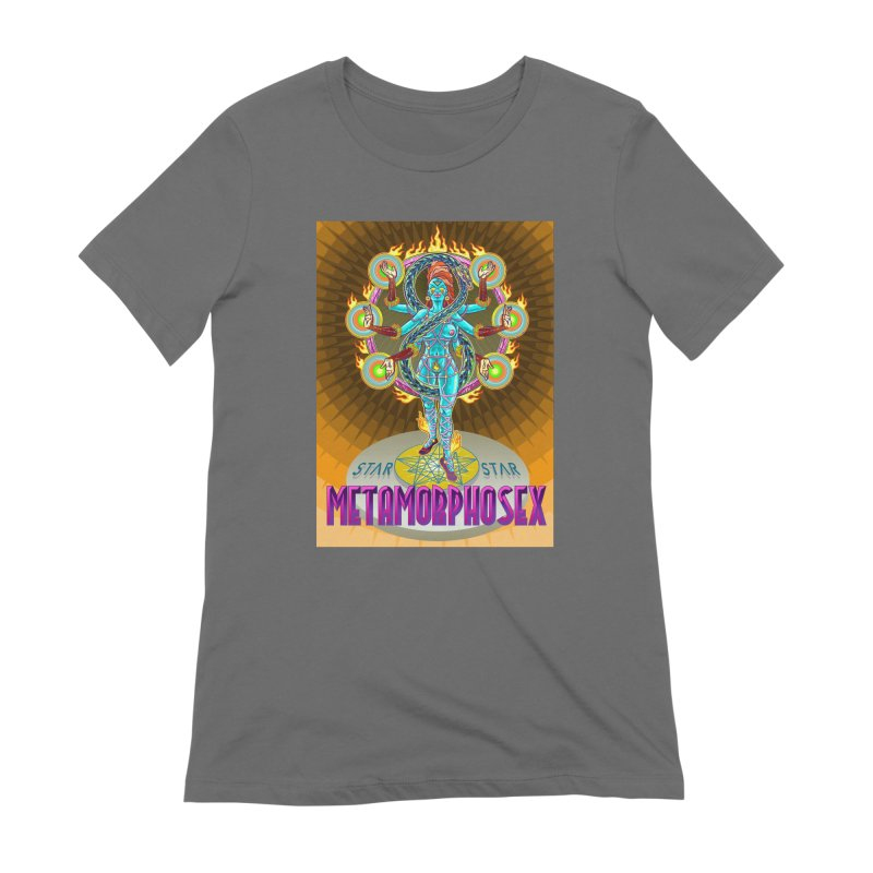Metamorphosex 2019. Color poster Women's Extra Soft T-Shirt by starstar's Artist Shop