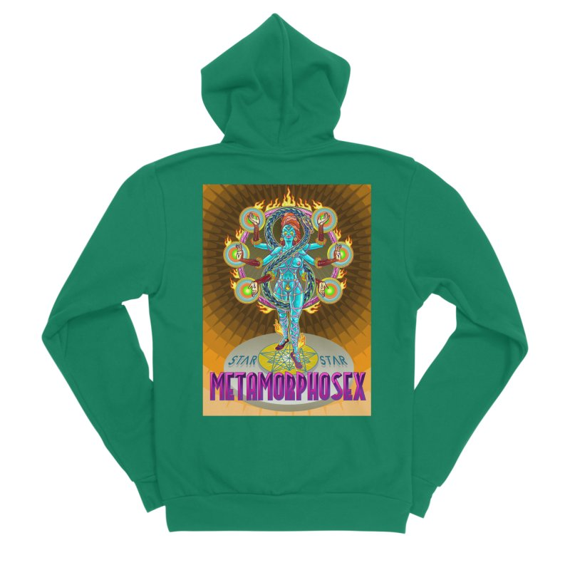 Metamorphosex 2019. Color poster Women's Sponge Fleece Zip-Up Hoody by starstar's Artist Shop