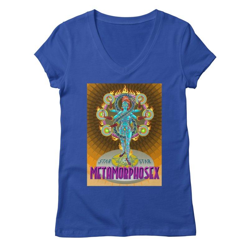 Metamorphosex 2019. Color poster Women's Regular V-Neck by starstar's Artist Shop