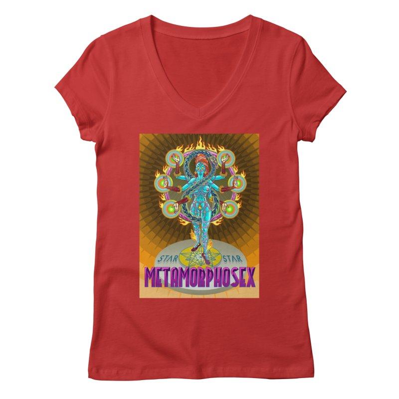 Metamorphosex 2019. Color poster Women's V-Neck by starstar's Artist Shop
