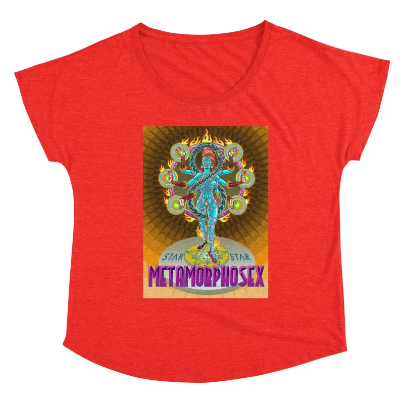 Metamorphosex 2019. Color poster Women's Scoop Neck by starstar's Artist Shop