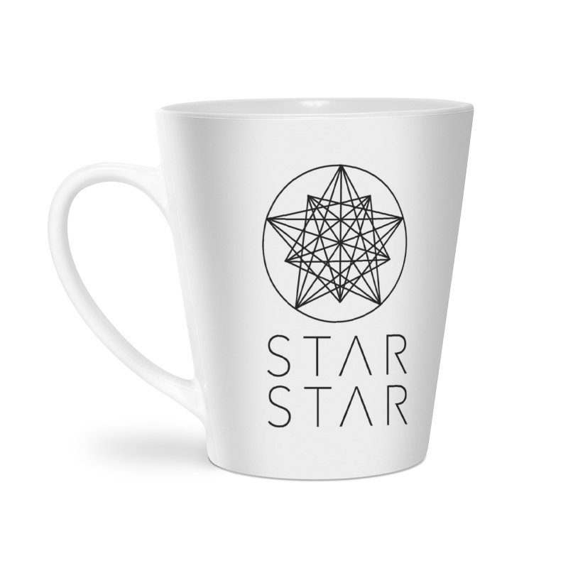 StarStar 2019 Black Logo Accessories Latte Mug by starstar's Artist Shop