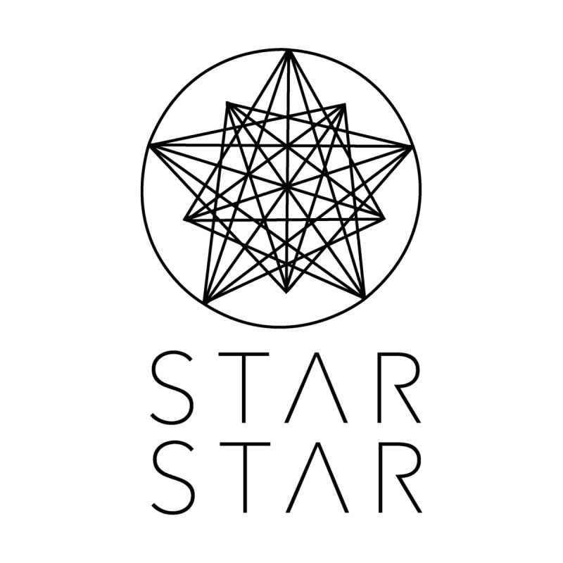 StarStar 2019 Black Logo Accessories Bag by starstar's Artist Shop