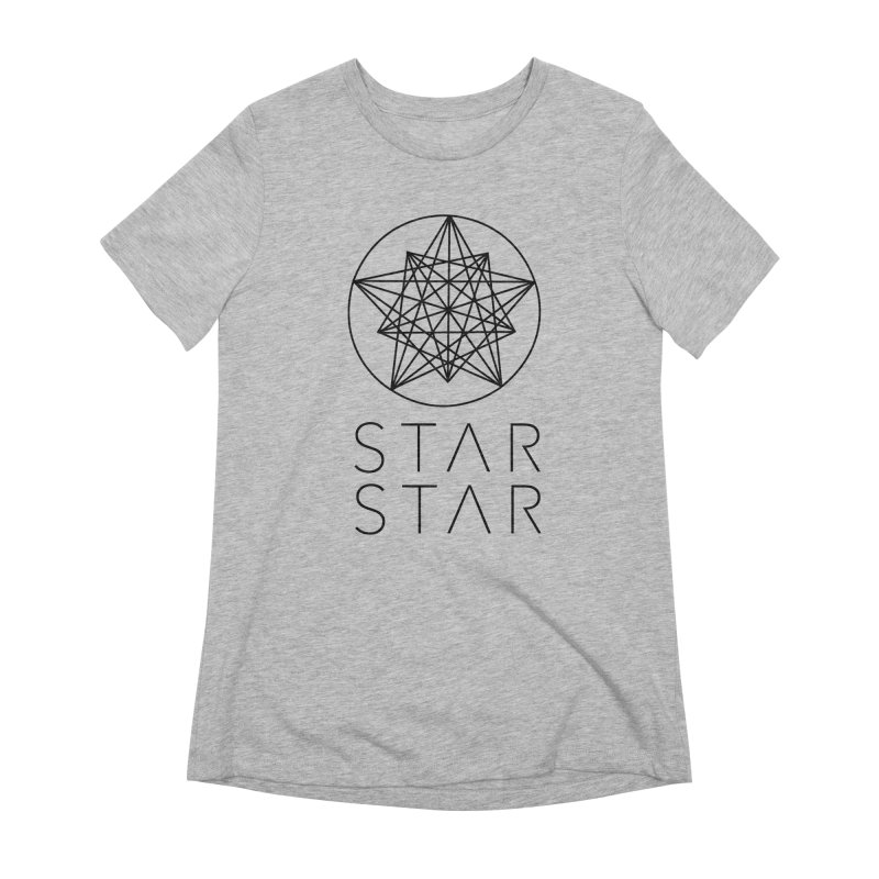 StarStar 2019 Black Logo Women's Extra Soft T-Shirt by starstar's Artist Shop