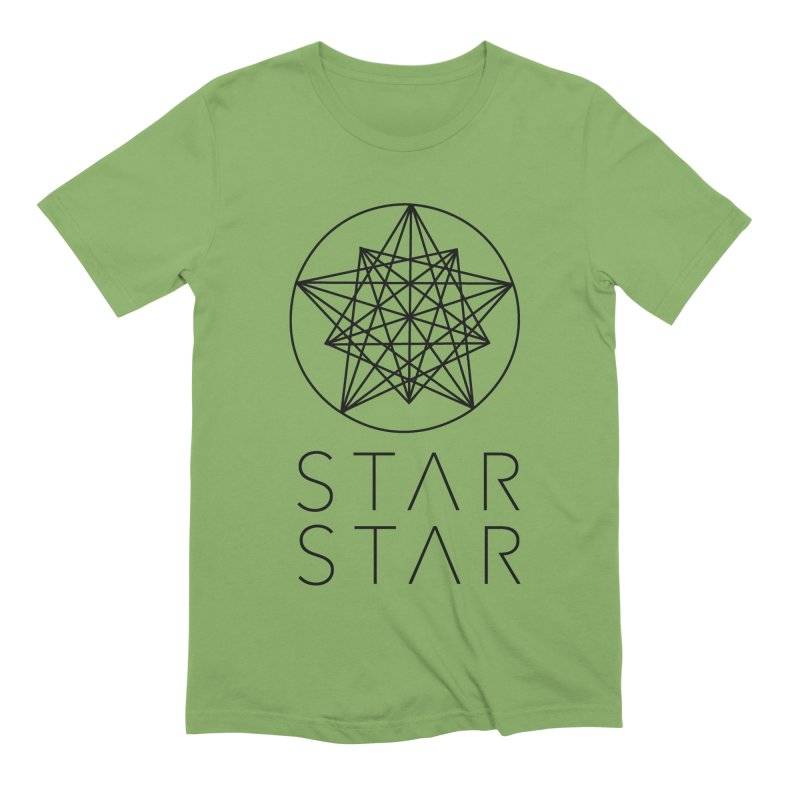 StarStar 2019 Black Logo Men's T-Shirt by starstar's Artist Shop