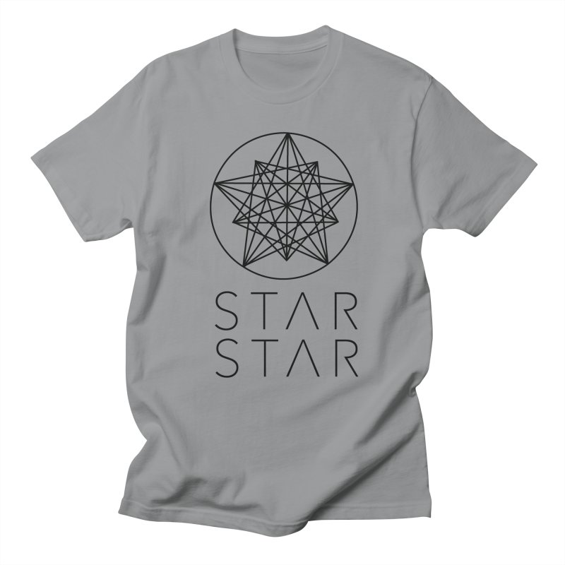 StarStar 2019 Black Logo Men's T-Shirt by starstar's Artist Shop