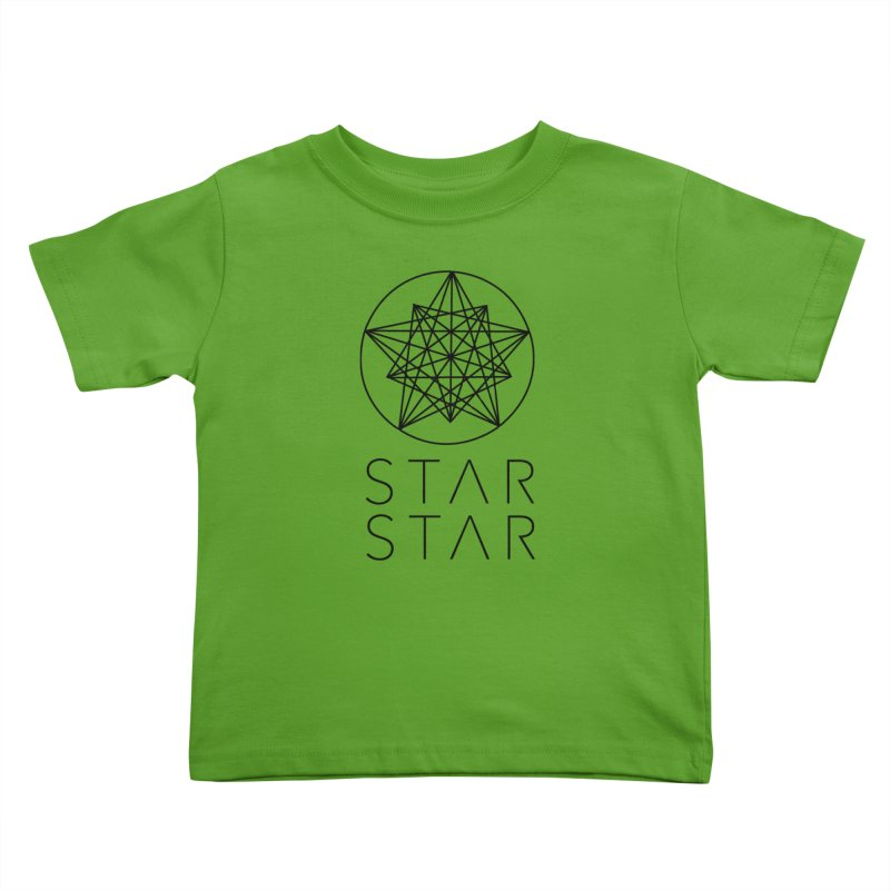 StarStar 2019 Black Logo Kids Toddler T-Shirt by starstar's Artist Shop