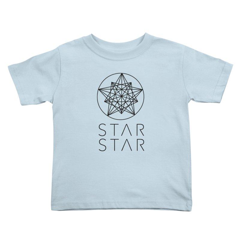 StarStar 2019 Black Logo Kids Toddler T-Shirt by starstar's Artist Shop
