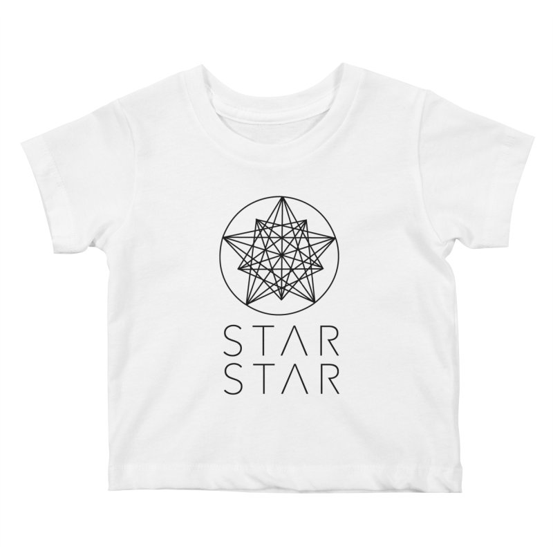 StarStar 2019 Black Logo Kids Baby T-Shirt by starstar's Artist Shop