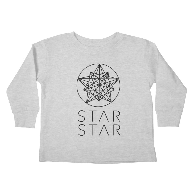 StarStar 2019 Black Logo Kids Toddler Longsleeve T-Shirt by starstar's Artist Shop