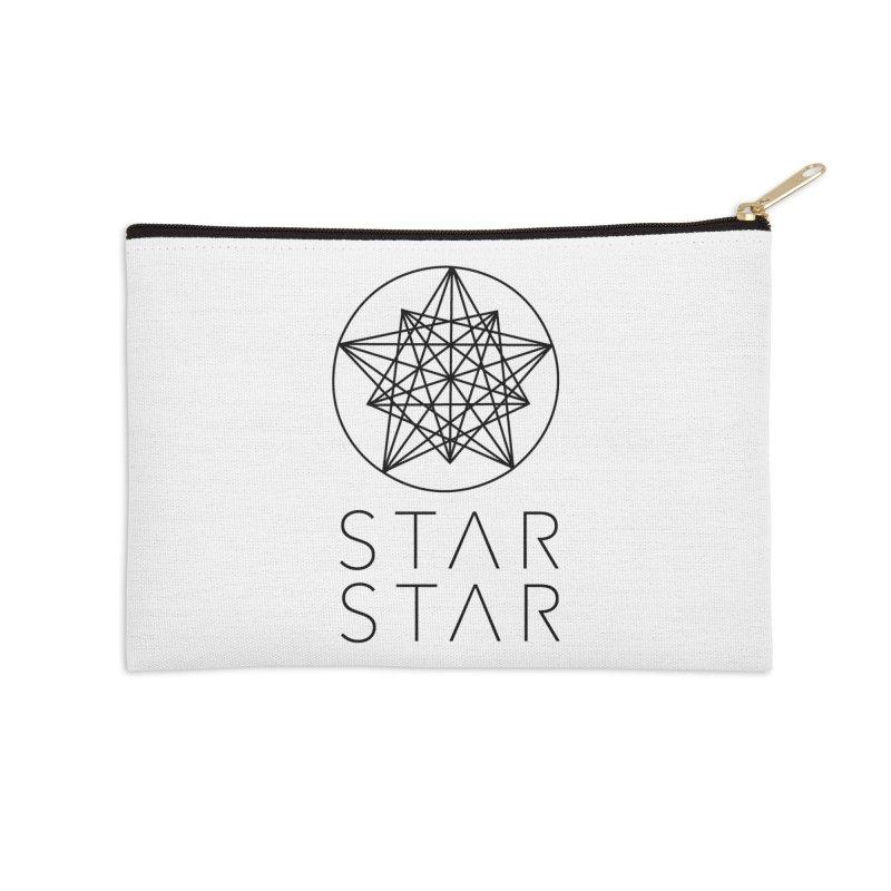 StarStar 2019 Black Logo Accessories Zip Pouch by starstar's Artist Shop