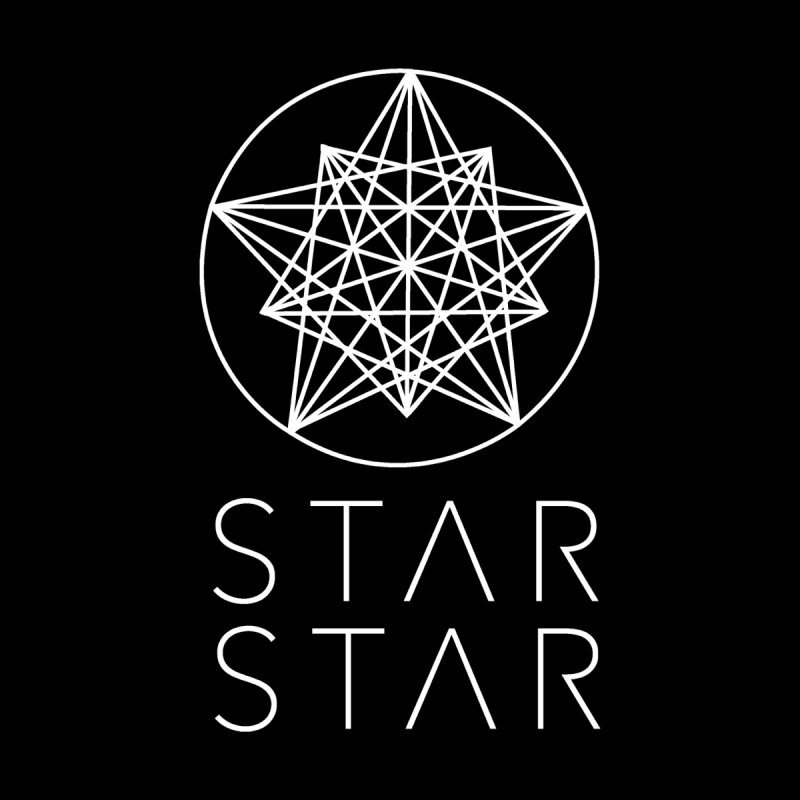 StarStar 2019 White Logo Men's Longsleeve T-Shirt by starstar's Artist Shop