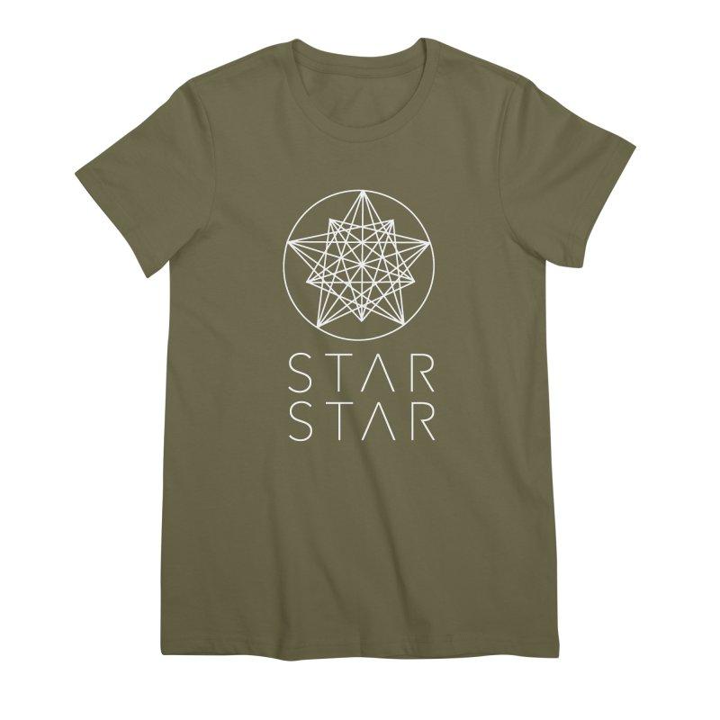 StarStar 2019 White Logo Women's Premium T-Shirt by starstar's Artist Shop