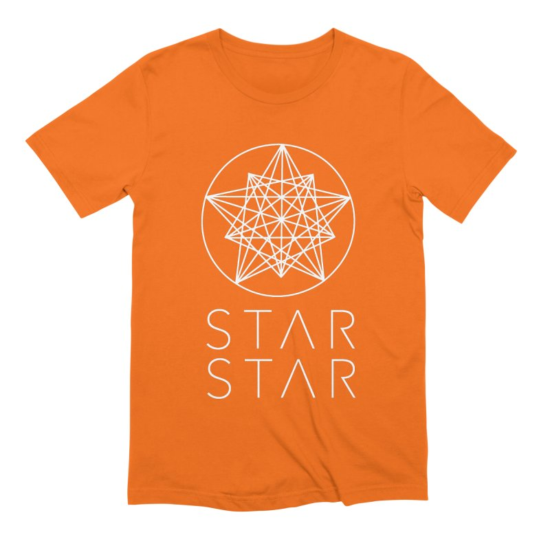 StarStar 2019 White Logo Men's Extra Soft T-Shirt by starstar's Artist Shop