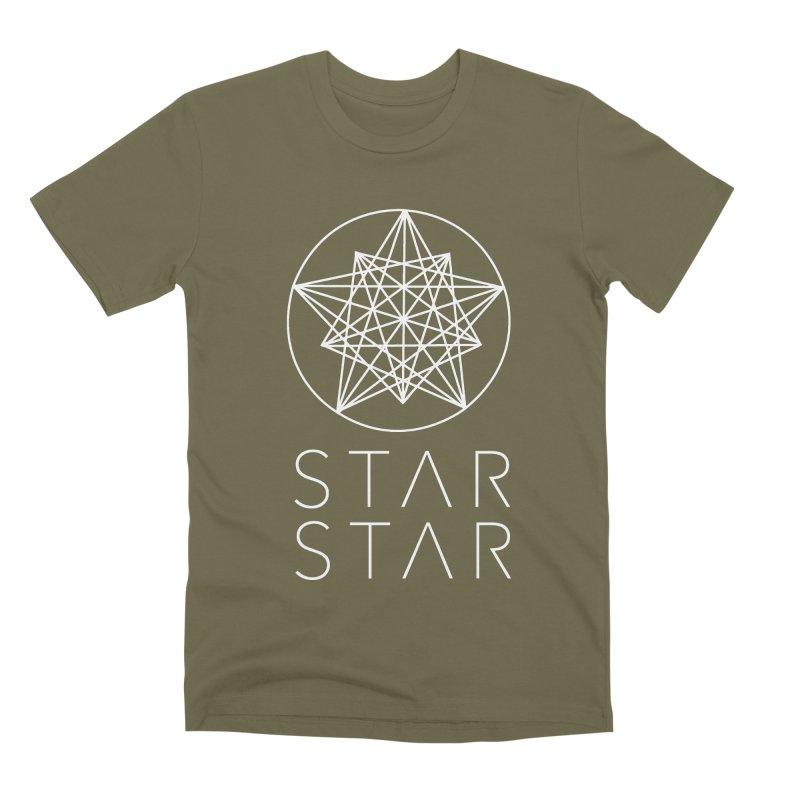 StarStar 2019 White Logo Men's Premium T-Shirt by starstar's Artist Shop