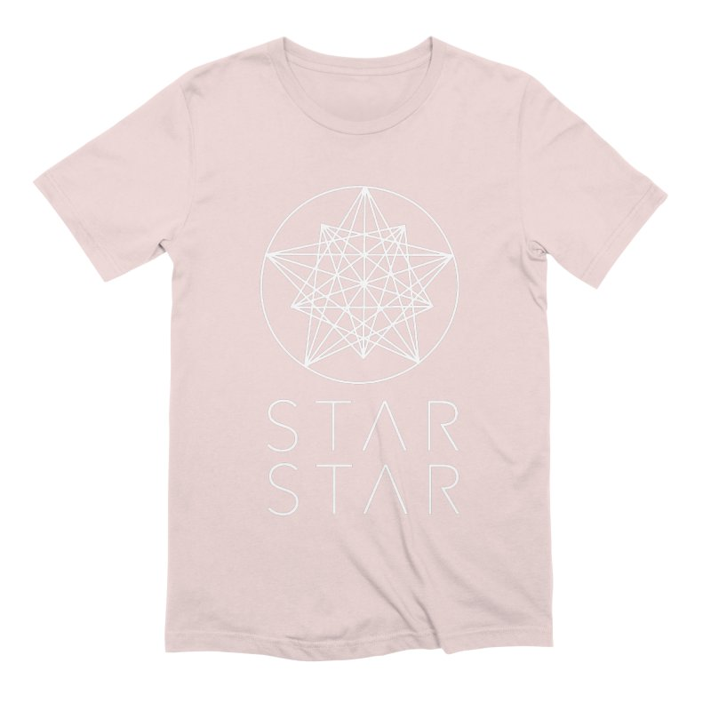 StarStar 2019 White Logo Men's Extra Soft T-Shirt by starstar's Artist Shop