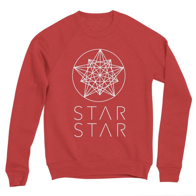 StarStar 2019 White Logo Men's Sponge Fleece Sweatshirt by starstar's Artist Shop