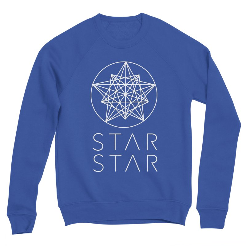 StarStar 2019 White Logo Men's Sweatshirt by starstar's Artist Shop