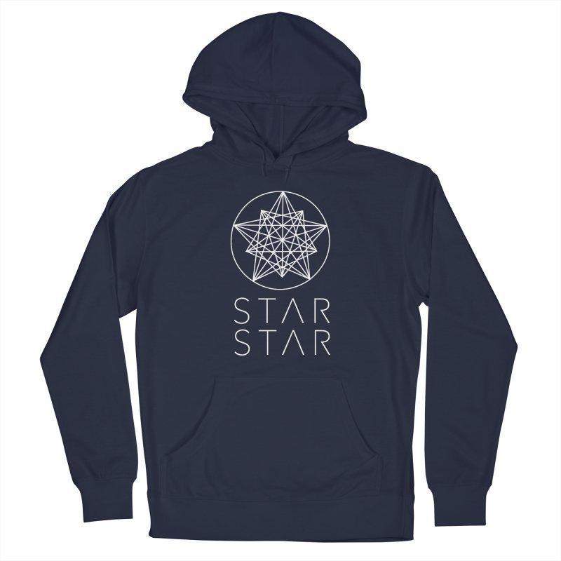 StarStar 2019 White Logo Women's French Terry Pullover Hoody by starstar's Artist Shop