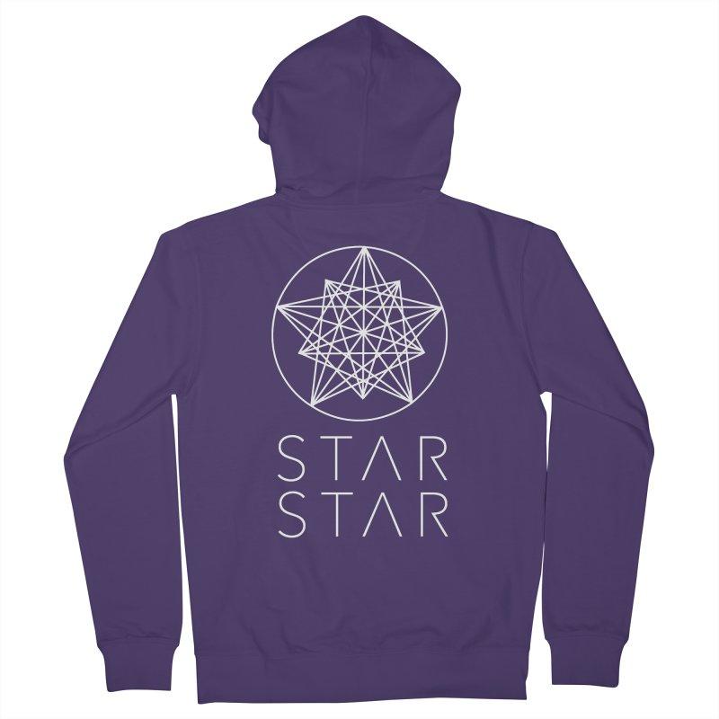 StarStar 2019 White Logo Women's Zip-Up Hoody by starstar's Artist Shop