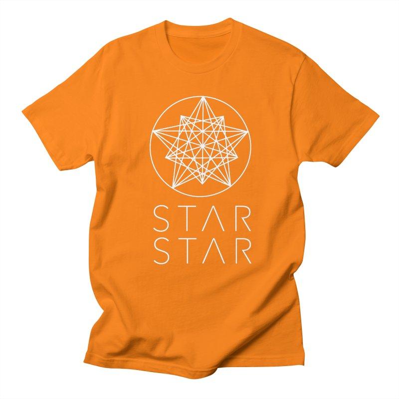StarStar 2019 White Logo Men's Regular T-Shirt by starstar's Artist Shop