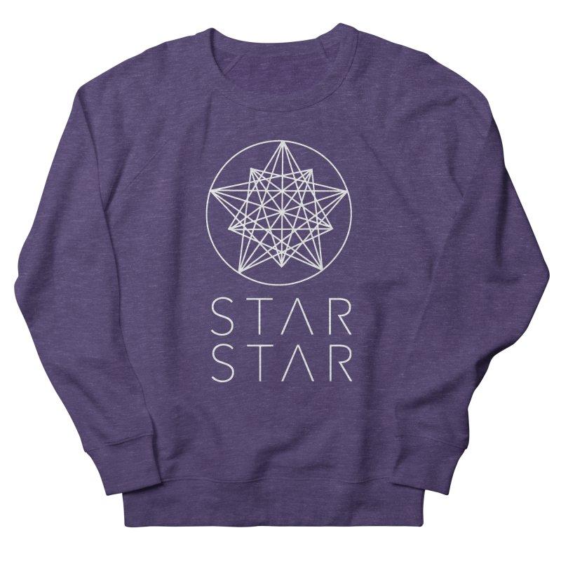 StarStar 2019 White Logo Men's French Terry Sweatshirt by starstar's Artist Shop