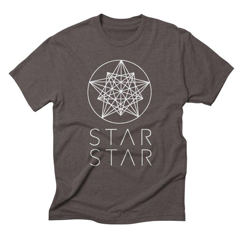 StarStar 2019 White Logo Men's Triblend T-Shirt by starstar's Artist Shop