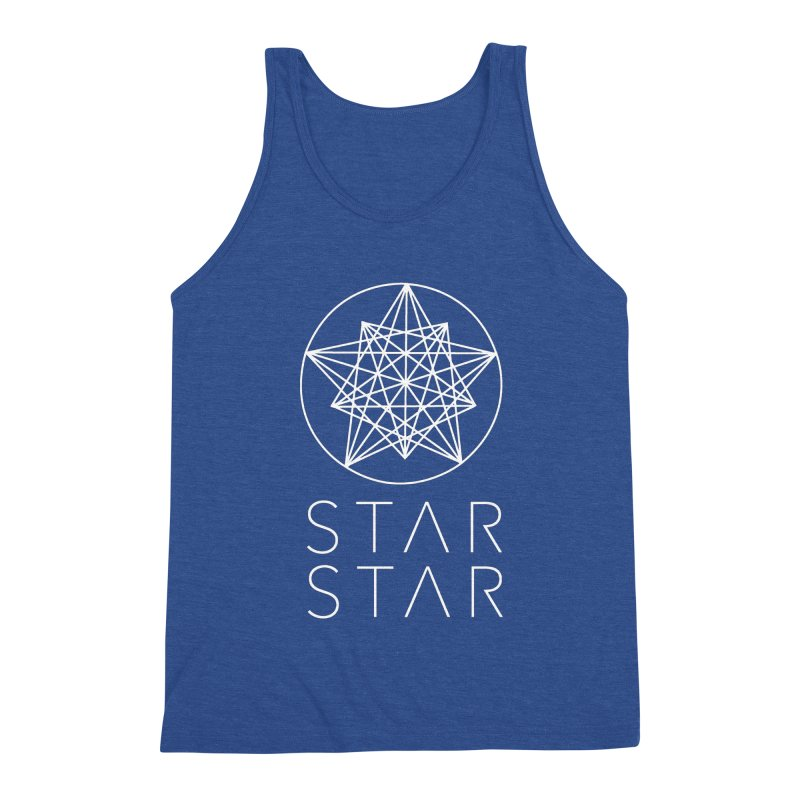 StarStar 2019 White Logo Men's Tank by starstar's Artist Shop