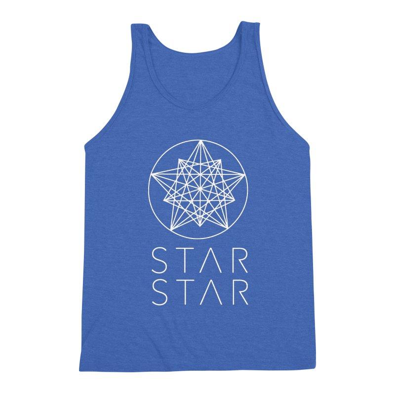 StarStar 2019 White Logo Men's Tank by starstar's Artist Shop