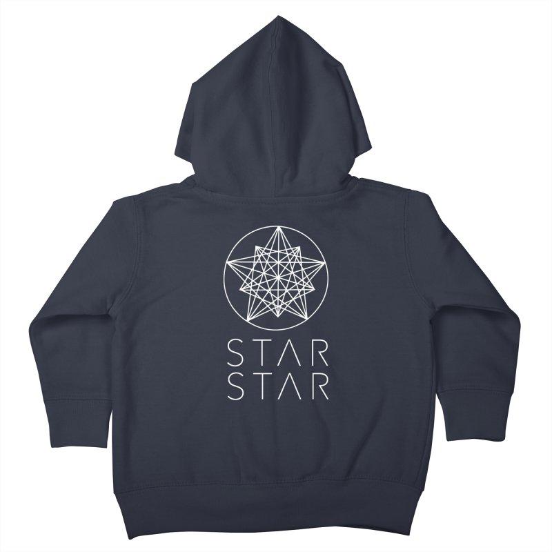 StarStar 2019 White Logo Kids Toddler Zip-Up Hoody by starstar's Artist Shop