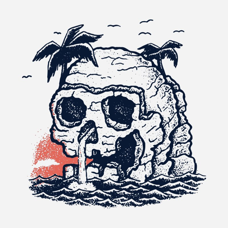 Welcome to Skull Island by Shirts and Stuff made by stashygraphics
