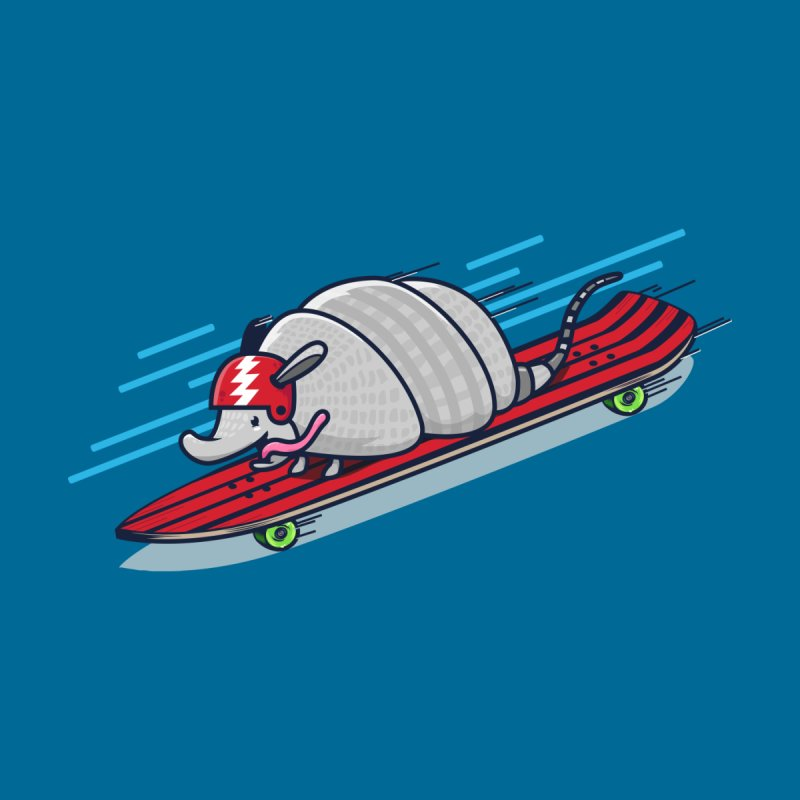 Supersonic Armadillo by Shirts and Stuff made by stashygraphics