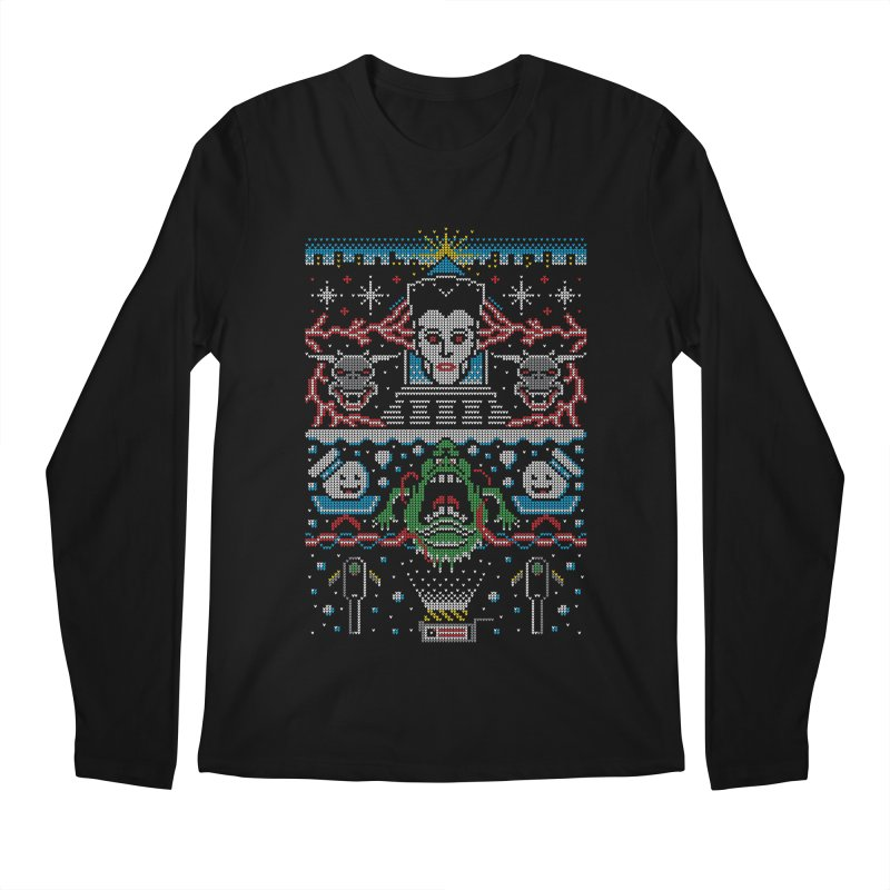 Bustin' Christmas Men's Longsleeve T-Shirt by Stationjack Geek Apparel