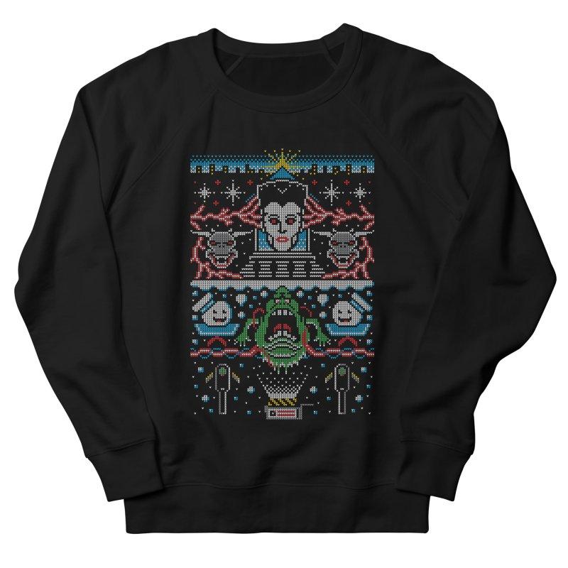 Bustin' Christmas Men's Sweatshirt by Stationjack Geek Apparel