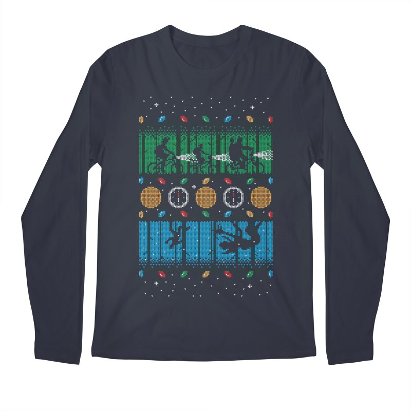 Upside Down Christmas Men's Longsleeve T-Shirt by Stationjack Geek Apparel