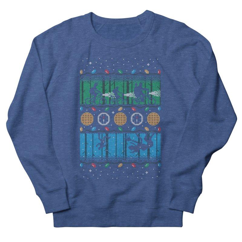 Upside Down Christmas Women's Sweatshirt by Stationjack Geek Apparel