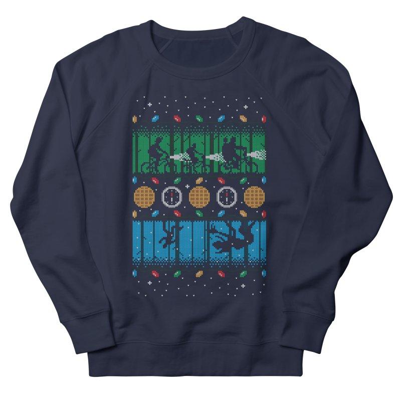 Upside Down Christmas Men's Sweatshirt by Stationjack Geek Apparel