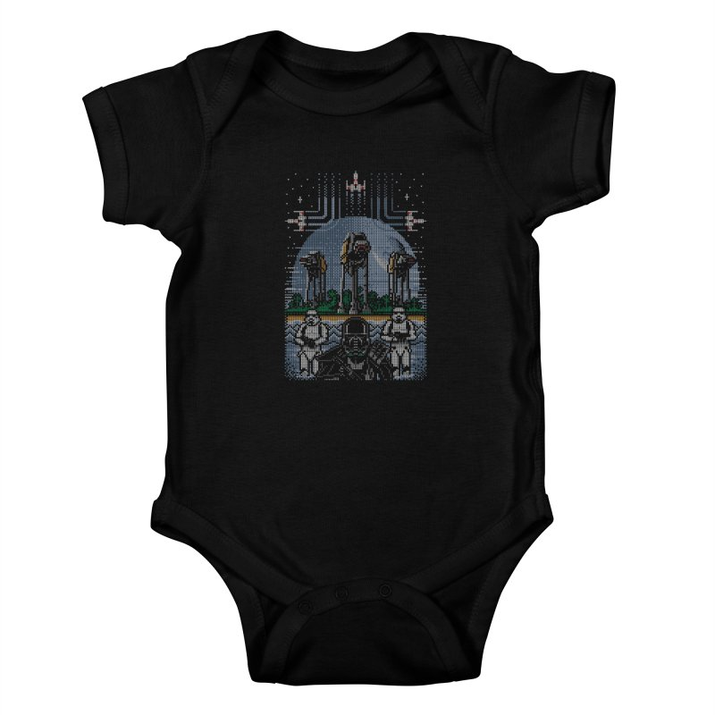 Wrath of the Empire Kids Baby Bodysuit by Stationjack Geek Apparel