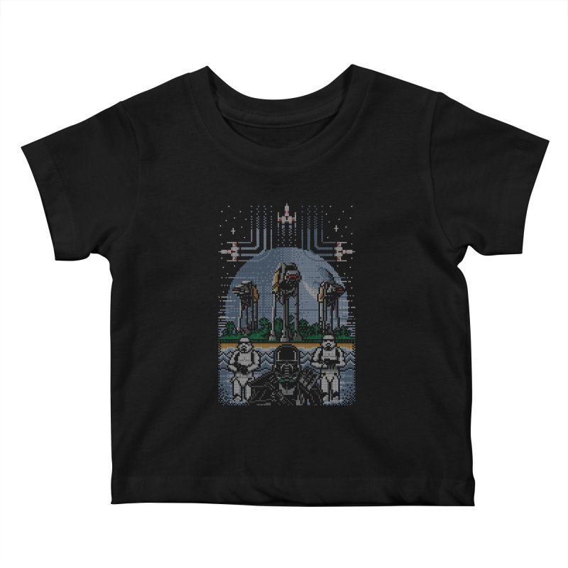 Wrath of the Empire Kids Baby T-Shirt by Stationjack Geek Apparel
