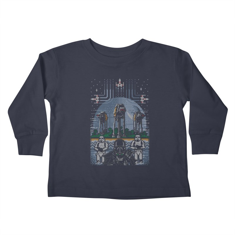 Wrath of the Empire Kids Toddler Longsleeve T-Shirt by Stationjack Geek Apparel